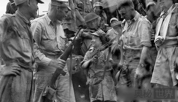 拉加苏之战中与日军之间的狙击战