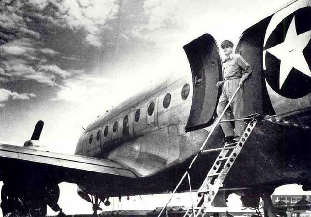 抗战国军击落日本天皇座机经过