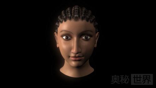埃及艳后的3D头像还原图