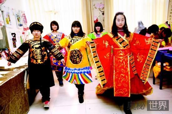 中国古代服装的发展历程