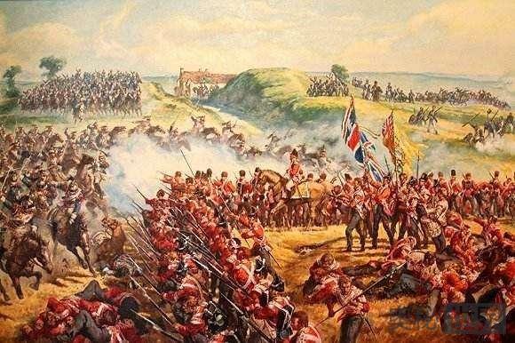 拿破仑在滑铁卢的最后一战