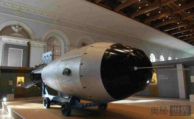 沙皇炸弹:人类史上最强炸弹