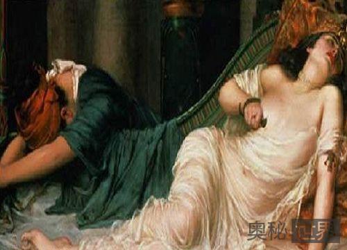 埃及艳后死于一杯有毒的鸡尾酒