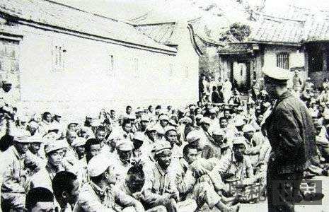 金门战役部分解放军战俘释放后遭枪决