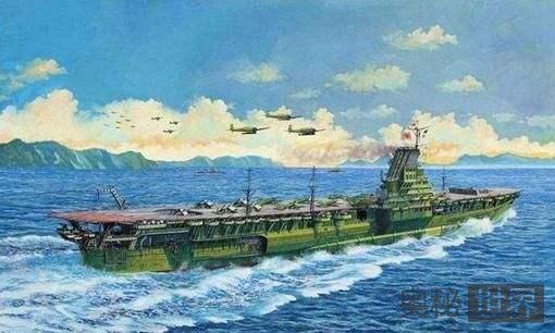 """二战最短命的航母""""信浓号"""""""