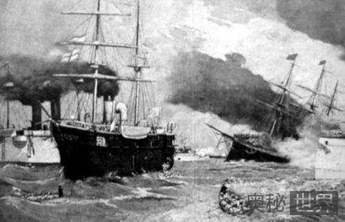 中日甲午战争的过程:清军节节败退战场全面溃败