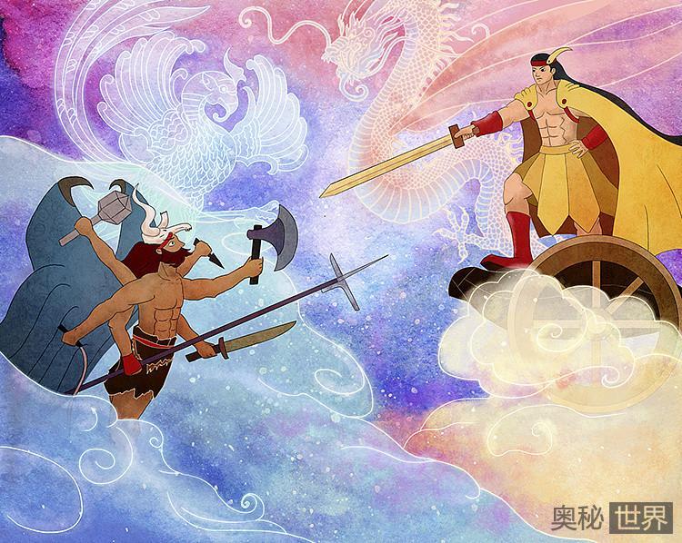 涿鹿之战是黄帝打败了蚩尤,为何后人却称自己是炎黄子孙?