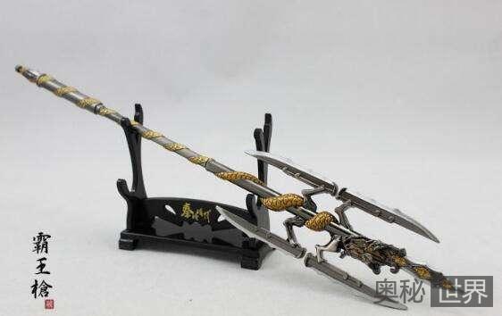 中国古代十大名枪排行榜