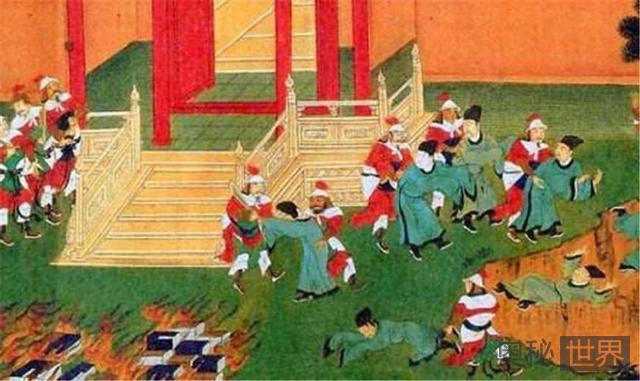 秦始皇焚书坑儒:哪些书是在被焚毁的范围内呢?