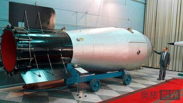 沙皇炸弹:毁灭性巨大而无法使用的超级核弹