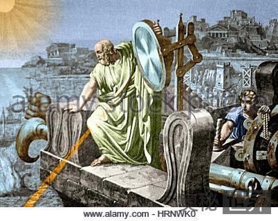 致命奇光:阿基米德以光退敌的原理