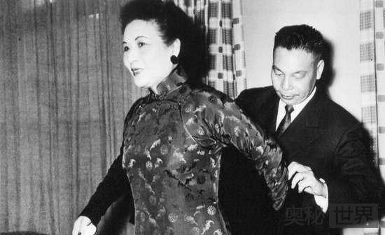 宋美龄曾阻止儿子蒋经国反腐
