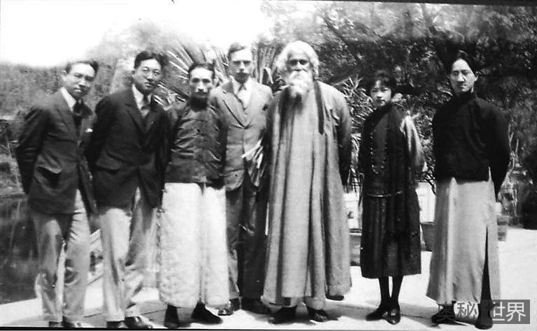 泰戈尔当年代徐志摩向林徽因求婚