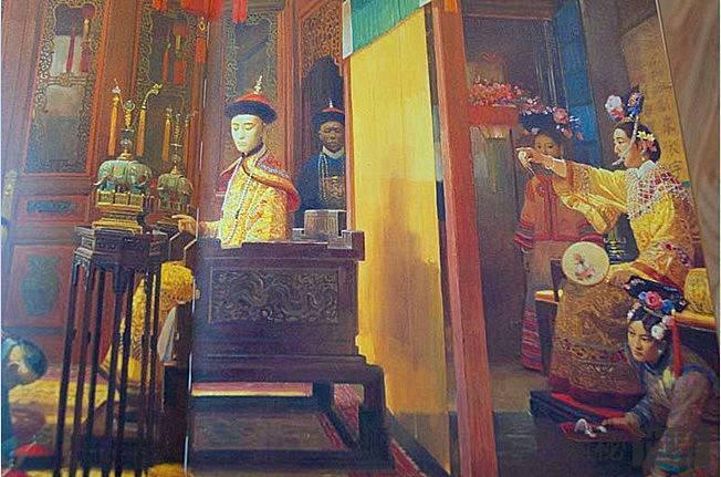"""从宣太后到隆裕太后:中国历史上的""""垂帘听政"""""""