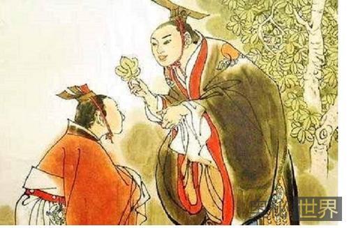 周成王桐叶封弟的故事