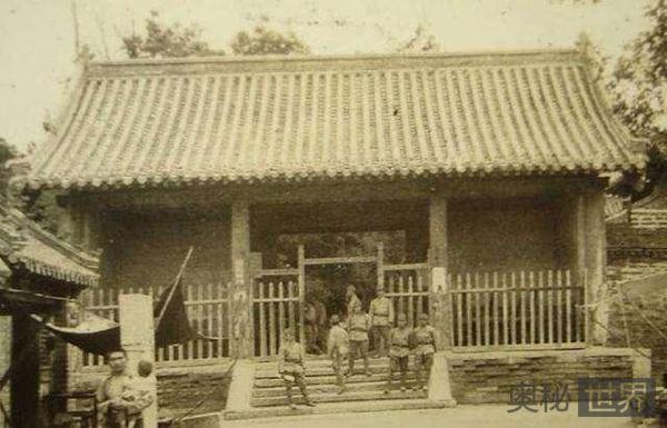 侵华日军为什么对岳王墓礼遇有加