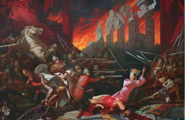 为什么英法联军烧的是圆明园而没烧紫禁城呢?