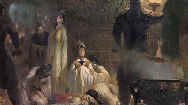 中国古代是如何处死殉葬者的