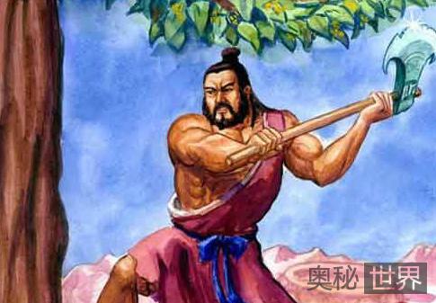 吴刚伐桂的神话故事