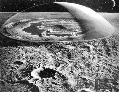 月面发现新鲜人类赤脚印
