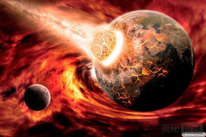 陨石撞击造成火星南北地貌的巨大差异