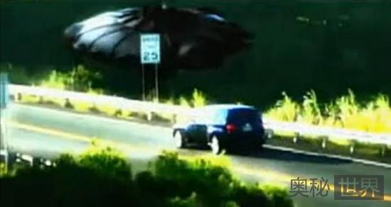 新墨西哥州沙漠出现UFO绑架事件
