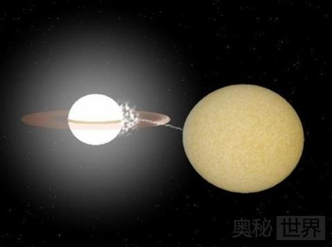 最短周期双子恒星5.4分钟环绕1周