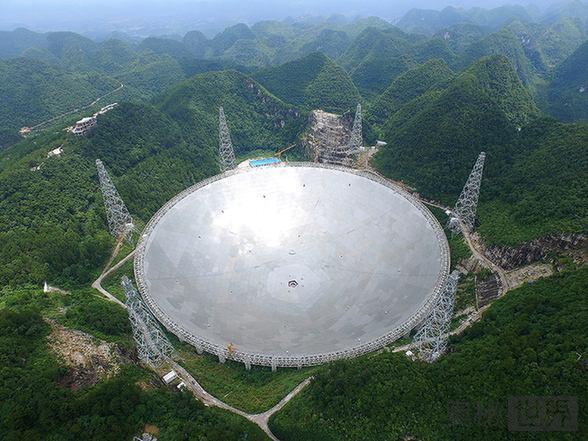 最大单口径射电望远镜FAST:中国准备搜寻外星人
