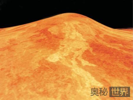 金星拥有太阳系最大火山