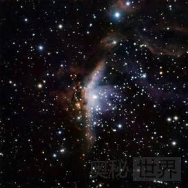 古姆19:宇宙中的双面星云
