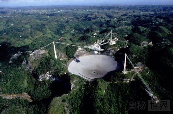 搜寻地外文明计划的巨型天线