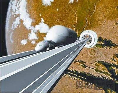 美国计划十年内造月球太空梯