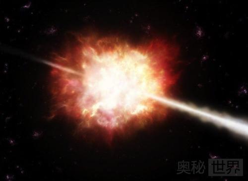 新生黑洞引发全宇宙最大的伽马射线爆炸