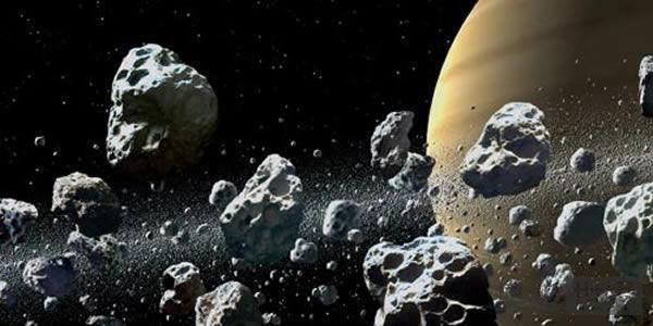 土星卫星爆炸碎片形成土星光环
