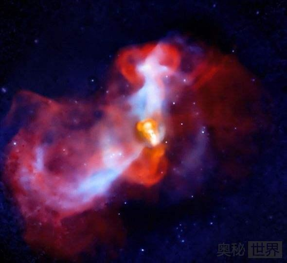 M87星系发现最大的黑洞