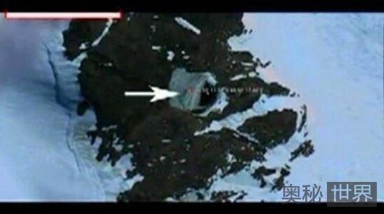 南极洲发现神秘外星人基地