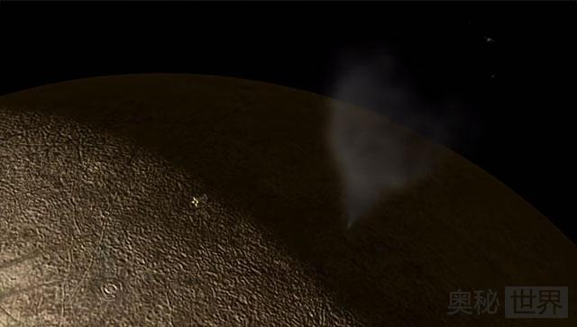 NASA在木卫二的新发现
