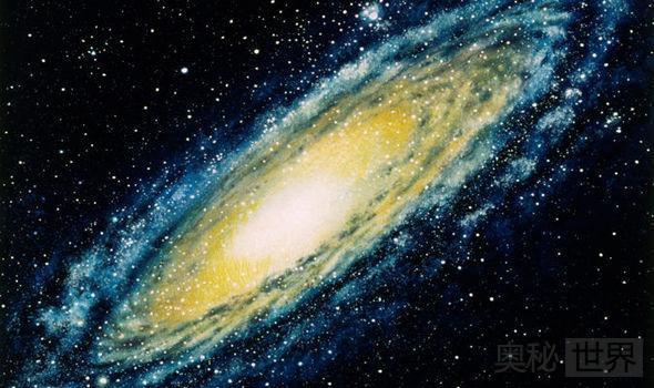 银河系中心区域存在巨大空洞已沉默数亿年