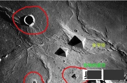 宇航员在月球背面拍到玛雅人秘密基地