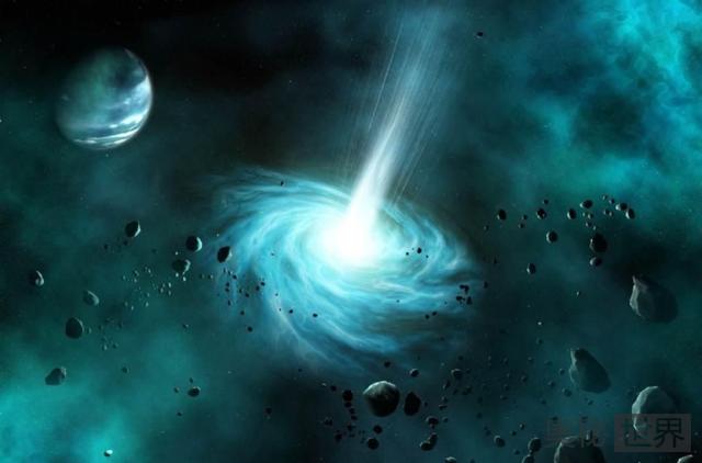 """霍金称宇宙只存在""""灰洞""""而黑洞并不存在"""