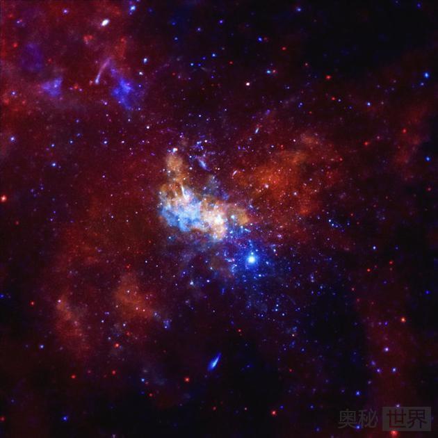 """银河系中心附近耀斑的特征性""""晃动"""":证实黑洞存在"""