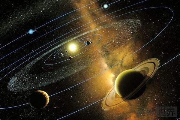 """如何理解恒星、行星等""""悬浮""""在宇宙中?"""