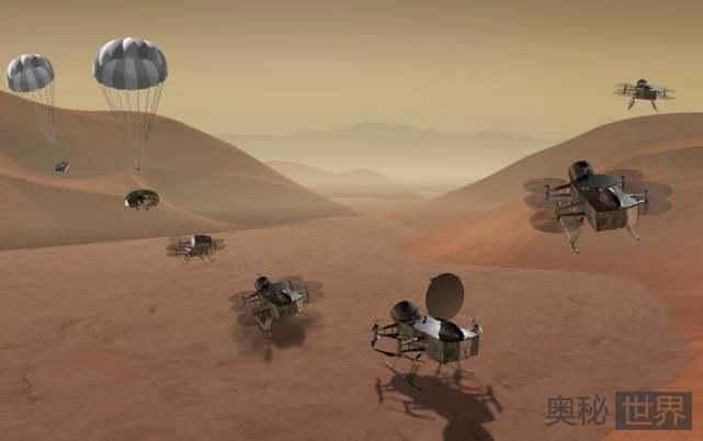 NASA宣布用核动力无人机探索土卫六 寻找地外生命