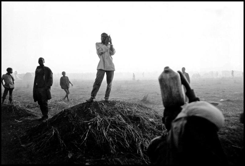 逃亡的难民