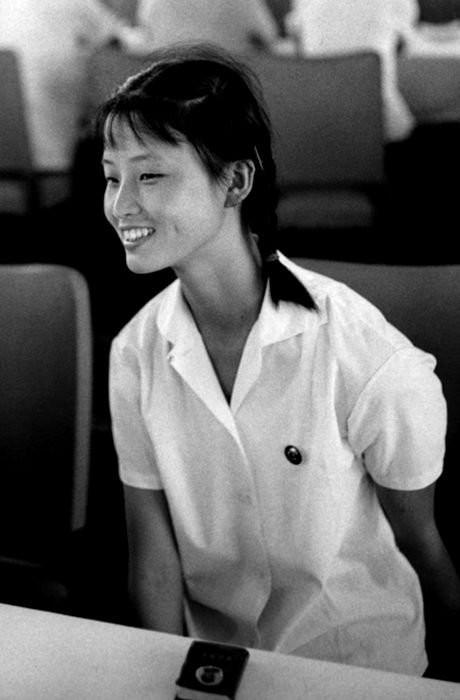 上海芭蕾舞学校的学生。摄于1971年的上海。