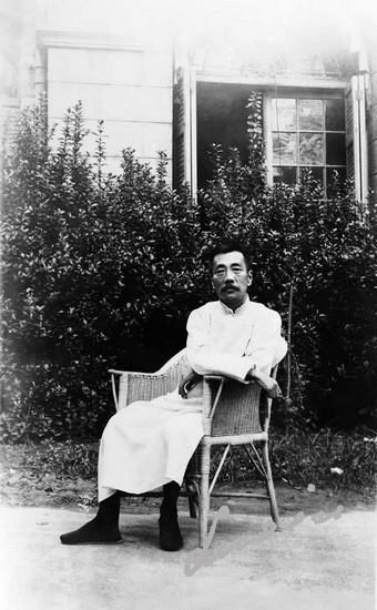 1930年9月17日 鲁迅五十岁 史沫特莱摄
