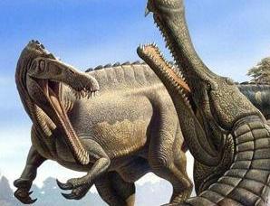 能单挑霸王龙的四种巨型鳄鱼