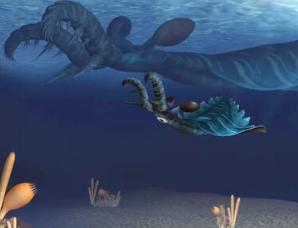 头上长着巨大爪子的怪物:5亿年前的最早凶猛掠食者