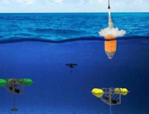 """美国建造供水下无人机隐藏的""""豆荚""""计划"""