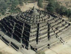 婆罗浮屠每层代表什么